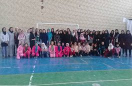 برگزاری مسابقات آمادگی جسمانی بانوان در شهرستان استهبان