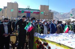 رژه خودرویی در استهبان به مناسبت ایام الله دهه فجر