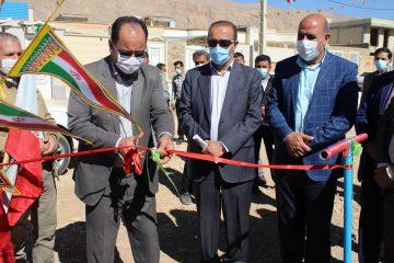 افتتاح دو پروژه آبرسانی در استهبان