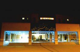 تکمیل ظرفیت بخش کووید و ICU کووید بیمارستان استهبان