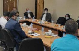 دیدار معاون توسعه و منابع استانداری فارس با کارکنان فرمانداری شهرستان استهبان